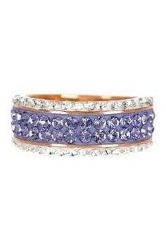 Pave Swarovski Crystal Ring by Candela on @HauteLook