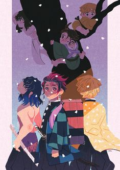 Demon Slayer: Kimetsu no Yaiba (鬼滅の刃) Manga Anime, Anime Demon, Anime Art, Blue Exorcist, Inu Yasha, Anime Lindo, Dragon Slayer, Cowboy Bebop, Slayer Anime