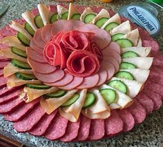 Meat Trays Meat Platter Meat And Cheese Tray Food Platters Bridal Party Foods Party Food And Drinks Party Snacks Appetizers For Party Charcuterie Platter Meat And Cheese Tray, Meat Trays, Meat Platter, Food Trays, Charcuterie Platter, Cheese Food, Cold Appetizers, Appetizer Recipes, Appetizers For Party