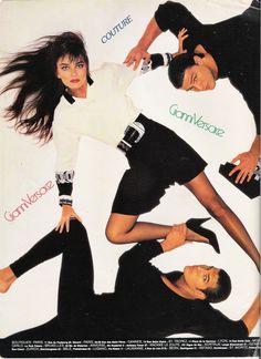 Gianni Versace ss 1988 by Richard Avedon and Paulina Porizcova