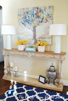 It's not exactly my style, but it's definitely super cute! || The Family Room: Local Client Update: Entryway Project