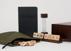 Designer Andrew Capener created a signed, limited edition Scrabble game featuring 15 different fonts any typographer would love. http://www.drewcapener.com/