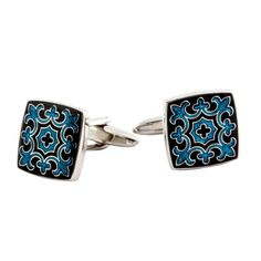 Ornate Fleur Di Lis Cuff Links with Gift Box - List price: $74.99 Price: $29.99 Saving: $45.00 (60%)