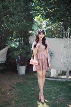 Fasion, Frocks, Lace Detail, Korean Fashion, Formal Outfits, Classy, Seasons, Womens Fashion, Cute