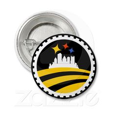 Pittsburgh for Obama Button from Zazzle.com