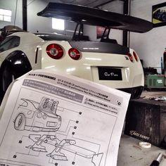 It feels like assembling a huge scale model car. Nissan Gtr R35, Liberty Walk, Wide Body, Car Tuning, Model Car, Jdm Cars, Scale Models, Feels, Racing