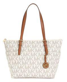 MICHAEL Michael Kors Handbag, East West Top Zip Tote - A Macy's Exclusive - Shop All - Handbags & Accessories - Macy's