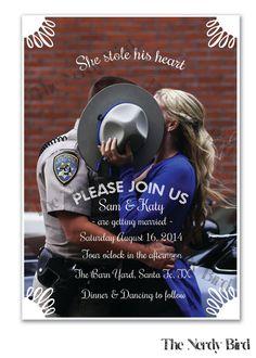 Custom Photo Design Printable Wedding Ceremony by TheNerdyBird1, $40.00