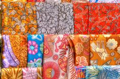 Pineda Covalin Silk Scarves / Made in Mexico