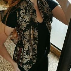 I just discovered this while shopping on Poshmark: !! VINTAGE !! Asian Tapestry Vest. Check it out! Price: $29 Size: XS