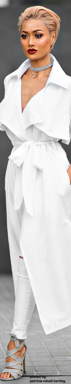 WHITE • нαυтє • CHIC • ❤️ curated by Babz™ ✿ιиѕριяαтισи❀ #abbigliamento
