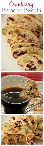 Cranberry and Pistachio Biscotti Recipe on Yummly