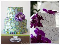 Wedding Cake~Love this fun design