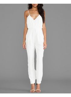 60a34a04d9cd The Someday Jumpsuit White Jumpsuit, Finders Keepers, Fashion Brand, Womens  Fashion, Revolve