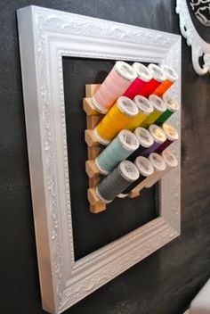 THIS is what I want to put in my craft room!!! Isn't that a fabulous idea?!?!