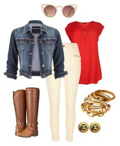 """Fall day"" by jerrilyn-supermommy-townsend-dixon on Polyvore featuring River Island, maurices, Madden Girl, Quay and Ashley Pittman"