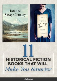 History buffs will love these historical fiction books