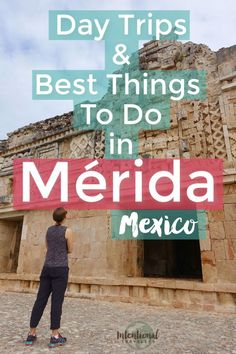Discover a beautiful budget travel destination in Merida, on Mexico's Yucatan Peninsula. From amazing tacos, local markets, colonial architecture, layers of history, and day trips to intriguing archeological ruins, you'll love visiting Merida Mexico! #mexico #yucatan #latinamerica #northamerica #traveldestinations #offthebeatenpath #budgettravel