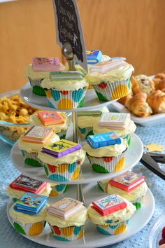 Build a Library Baby Shower - Rachaels BookNook