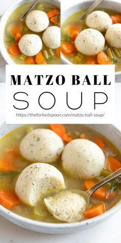 Matzo Ball Soup is perfect for cold winter nights and a must-have for Passover dinner. Learn how to make light and tender matzo balls using matzo meal, vegetable oil, eggs, and fresh dill, and serve… More