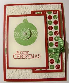 Stampin Up (new Christmas line) - like this as a template    http://tamieackerson.typepad.com/my_weblog/