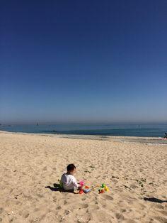 사근진 해변