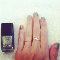 Chanel's Graphite looks great for any time of year!