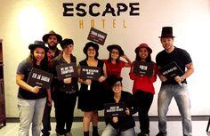 Jogos de Fuga - Escape Hotel  Sala A Máfia