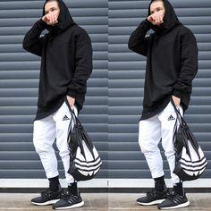 More looks by Lukas L.: http://lb.nu/whoislukas  #sporty #outfit #gym #adidas #threestripes #3stripes #teamadidas #hm #tiro15