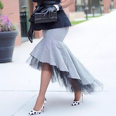 Ericdress Houndstooth Floor-Length Patchwork Fashion Skirt Fashion girls, party dresses long dress for short Women, casual summer outfit ideas, party dresses Fashion Trends, Latest Fashion # Urban Fashion, Boho Fashion, Fashion Outfits, Womens Fashion, Fashion 2018, Cheap Fashion, Fashion Top, Latest Fashion, Fashion Brands