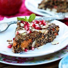 Quinoa Sweet Potato Breakfast Bake Recipe on FamilyFreshCooking.com © MarlaMeridith.com