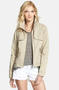 i'm obsessed with this khaki jacket by sam edelman {40% now during Nordstrom's Half Yearly Sale!!}
