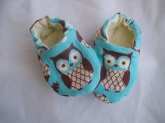 Owl Baby Shoes Booties    Owls by JaclynsDesigns on Etsy, $12.00