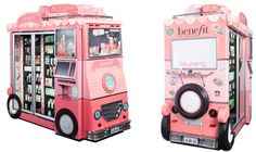 Benefit Cosmetics Vending Machine