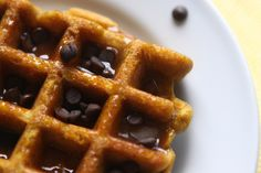 Dairy free pumpkin waffles      Here in Hawaii, it's difficult to find good pumpkin puree all year round. When our stores start bringing it in around Octobe[..]