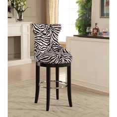 "Found it at Wayfair - Kleopatros 29.64"" Bar Stool   PAINT LEGS RED AND CHROME TO BRASS"