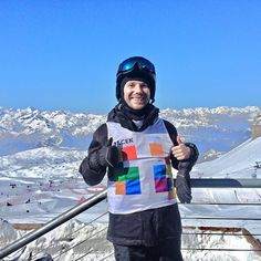 Just uploaded new vlog! #skiing