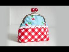 pattydoo tutorial #05 - Nähanleitung für eine kleine Tasche mit Taschenbügel - YouTube