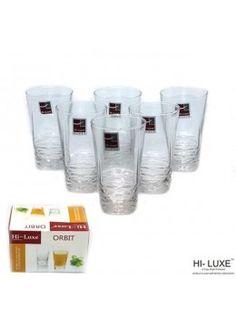 Buy Hi Luxe Orbit Juice Glass Set Of 6 Pcs-278087 online at happyroar.com