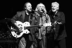 Crosby, Stills and Nash. The most wonderful harmonies and the most guitar changes you will see in one concert.