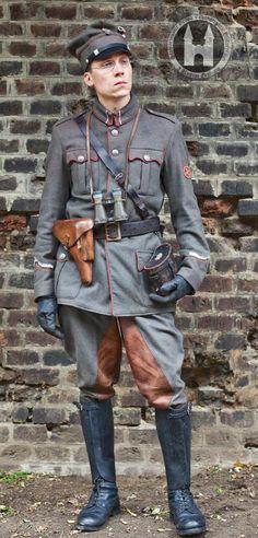 podporucznik plutonu kulomiotów 3 Pułku Strzelców Wielkopolskich