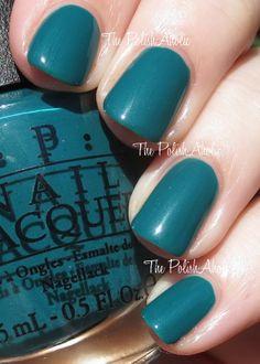 The PolishAholic: OPI Spring/Summer 2014 Brazil Collection Swatches Opi Nail Polish, Nail Polish Designs, Opi Nails, Nail Designs, Great Nails, Cute Nails, Summer 2014, Spring Summer, Emerald Nails