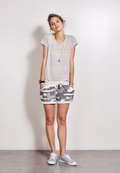 Sheer Linen Tee from hush