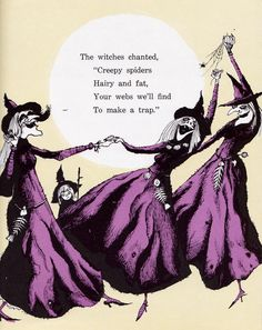 Weeny Witch by Ida DeLage, illustrated by Kelly Oechsli. Garrard Publishing Company, 1968.