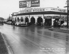 Markets of New Orleans: Circle Food Store, St. Bernard & Claiborne Ave., 1954