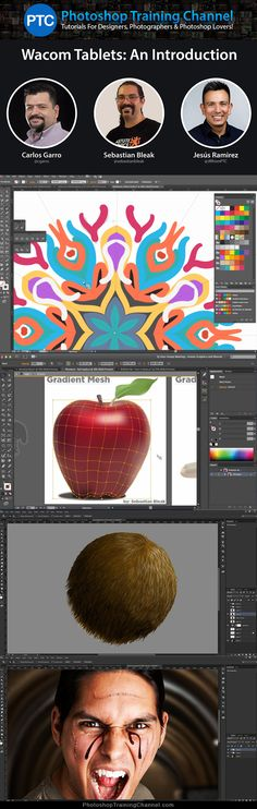 Recording to the Wacom Presentation at Adobe Headquarters for the Creative Cloud User Group of San Jose.Jesus Ramirez was joined remotely by, Carlos Garro who was in Costa Rica, and Sebastian Bleak who was in Los Angeles California.Carlos and Sebastian demonstrated how Wacom tablets work with both Illustrator and the Astute Graphics plugins, while Jesus Ramirez demonstrated how the tablets could be used with Photoshop and Illustrator.