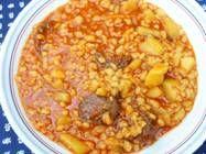 Ízőrzők,alföldi krumplis tarhonya Chana Masala, Chili, Food And Drink, Cooking Recipes, Vegetables, Ethnic Recipes, Foods, Drinks, Losing Weight