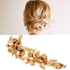 ¿Qué os parece la combinación elegida por @24fab con nuestra #diadema con este #recogido romántico?  www.rocioporresjoyas.com  #novia #boda #wedding #mariage #chignon #couronne #diadème #tiara #RocioPorres #joyas #bijoux #jewelry