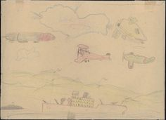 Children's Drawings from the Spanish Civil War
