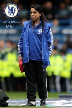 Eva Carneiro Chelsea Football, Chelsea Fc, Football Soccer, Association Football, Emergency Medicine, Premier League, Blues, Lovers, 4 Life